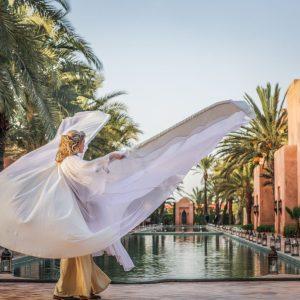 Evénement privé à l'Amanjena Resort Marrakech